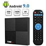 Android 9.0 TV Box Sidiwen T95 Mini Android Box 2GB RAM 16GB ROM H6 Quadcore Cortex-A53 Smart TV Box...