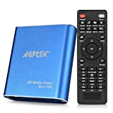 MKV Media Player, AGPtek Azul Mini Full HD 1080p Digital Streaming Media Player-MKV/RM-SD/USB HDD...