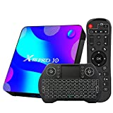 TV Box Android 10.0 4GB 64GB Decodificador Smart TV Box RK3318 USB 3.0 1080P Ultra HD 4K HDR 2.4GHz...